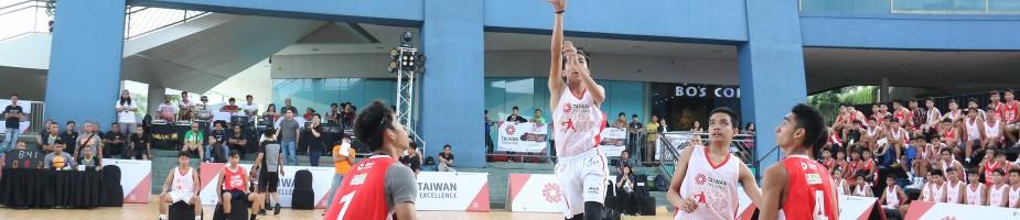 與菲律賓PBA職籃球星合作辦理台灣精品籃球營