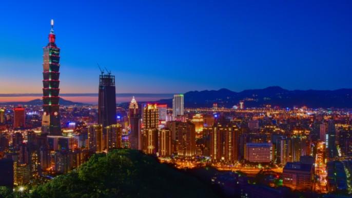 裙擺搖搖LPGA台灣錦標賽