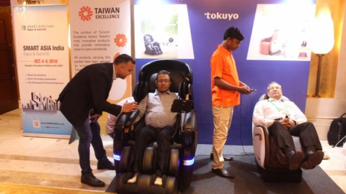 貿協新德里辦事處開幕活動 台灣精品體驗展示
