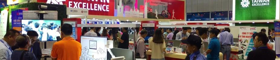 越南國際資通訊展(ICT Comm Vietnam)設置台灣精品館