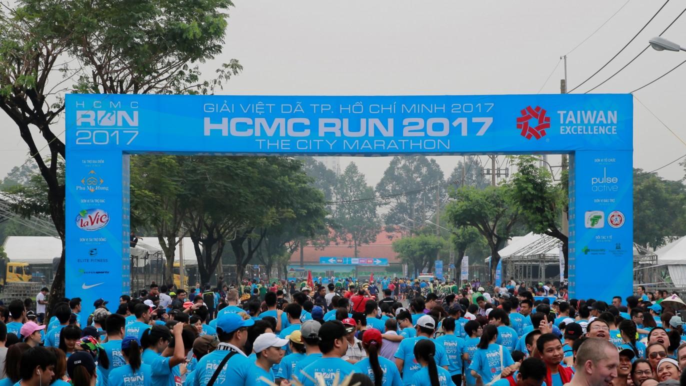 胡志明市公益路跑為越南為大的路跑活動,今年吸引7000名越南與國際跑者參與