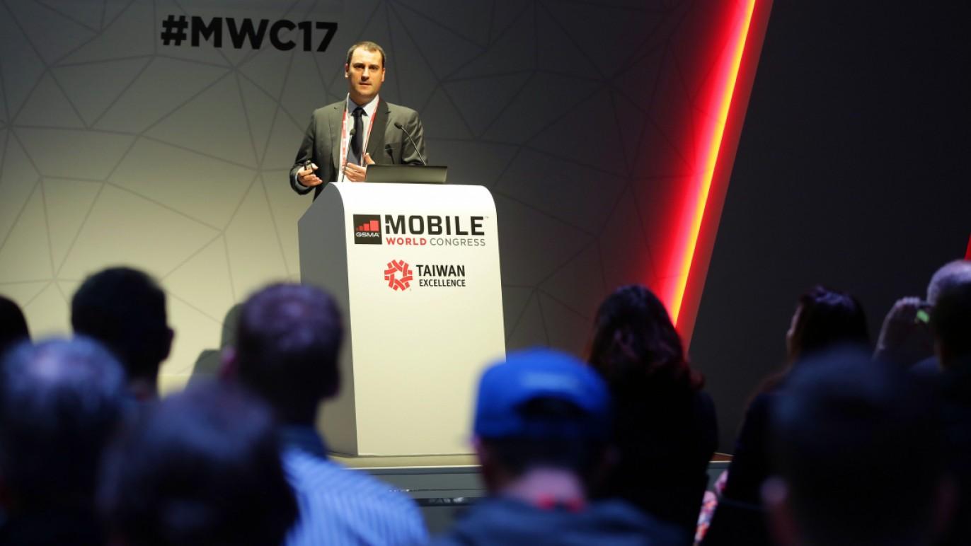 2017西班牙MWC展臺灣產品發表記者會友訊科技發表新品