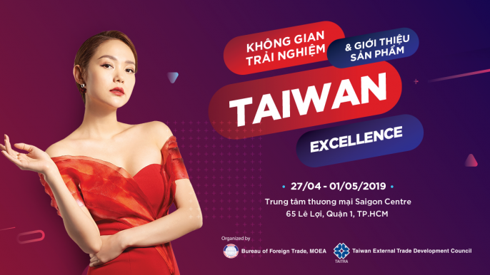 Taiwan Excellence Pop-up Store 2019 台灣精品越南快閃店