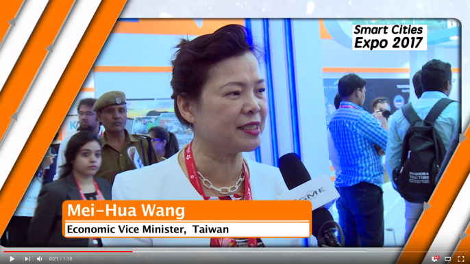 Taiwan strong ICT Industry to Support Indian Smart Cities | Ms Mei Hua Wang, Taiwan