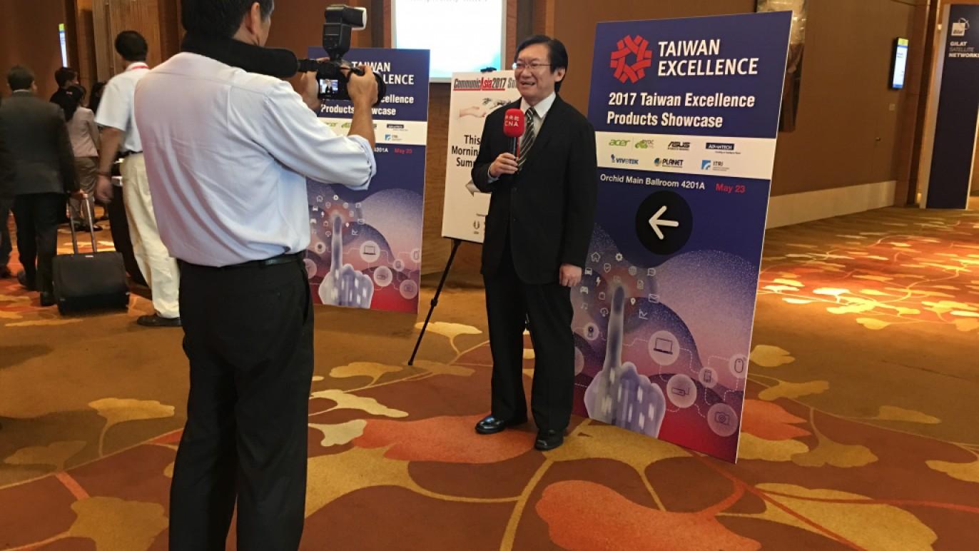 20170523-25新加坡亞洲資訊及通信展設置台灣精品館