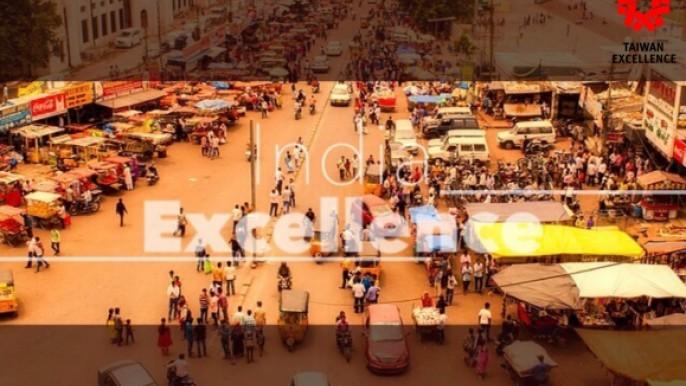 印度孟買自動化工業展設置台灣精品館