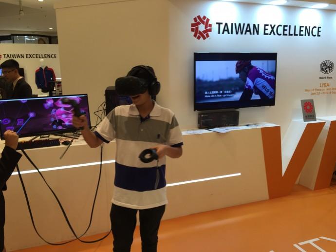 臺灣精品再訪紐約華納中心 電競VR雙主題驚豔吸晴