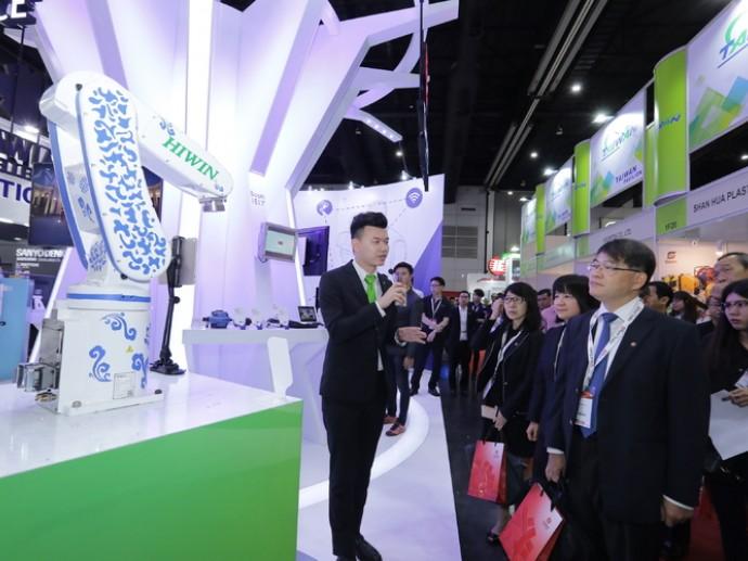 台灣精品首航進泰國國際組裝暨自動化機械零組件展 積極拓展新南向市場智慧機械產業商機