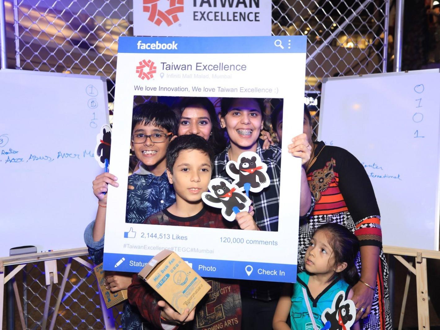 台灣精品電競盃活動吸引眾多印度消費者參與