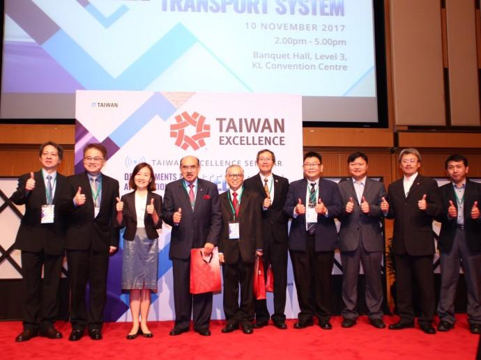 台灣精品南向之旅 智慧交通技術馬國產官學界爭相取經