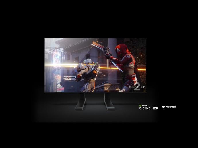 宏碁65吋Predator 大型遊戲顯示器首度亮相