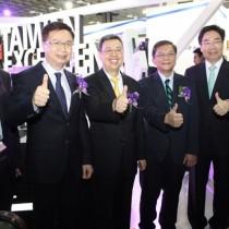 陳建仁副總統與李世光部長力讚台灣精品創新實力