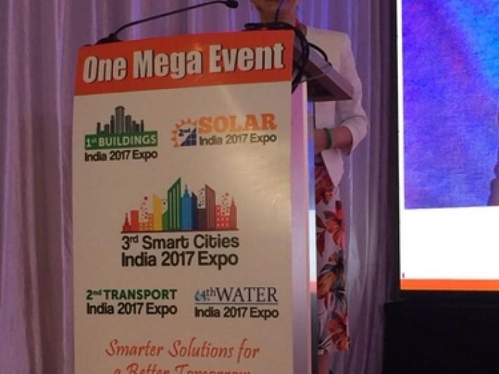 經濟部王美花次長於第三屆印度智慧城市展大會開幕典禮致詞