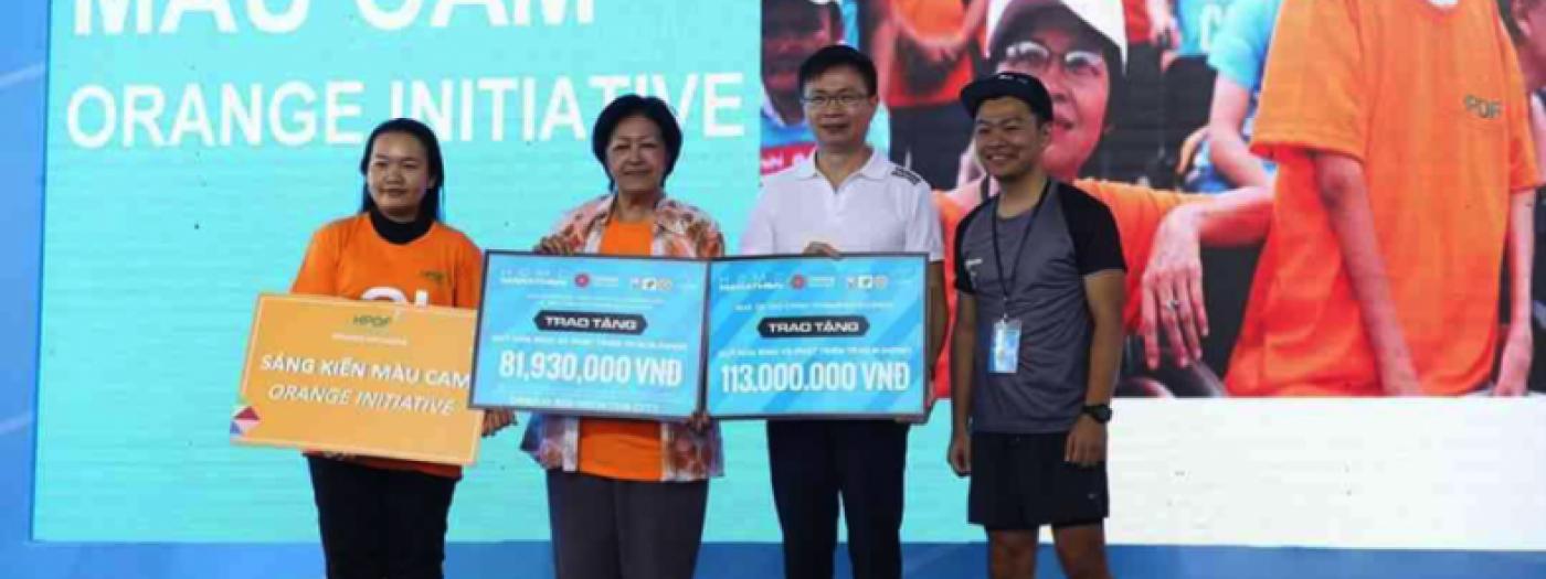 2018台灣精品新南向推廣 於胡志明市馬拉松熱情開跑