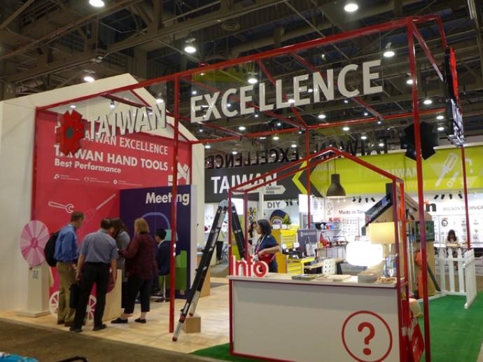台灣精品館首度亮相全美五金展 展現五金工具產業無限創意
