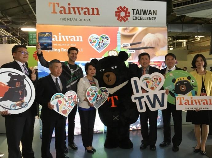 台灣精品再現紐約自行車展 雙輪驅動產業新里程