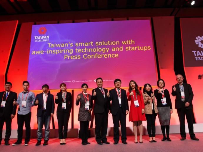 台灣精品前進西班牙MWC展現台灣人工智能產業實力