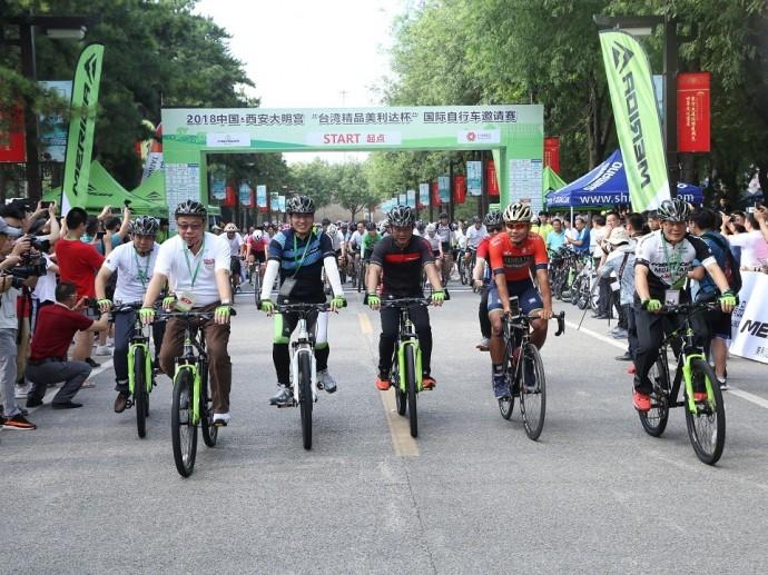 2018「台灣精品美利達盃」國際自行車賽熱鬧登場 外貿協會結合運動行銷於中國大陸推廣台灣精品