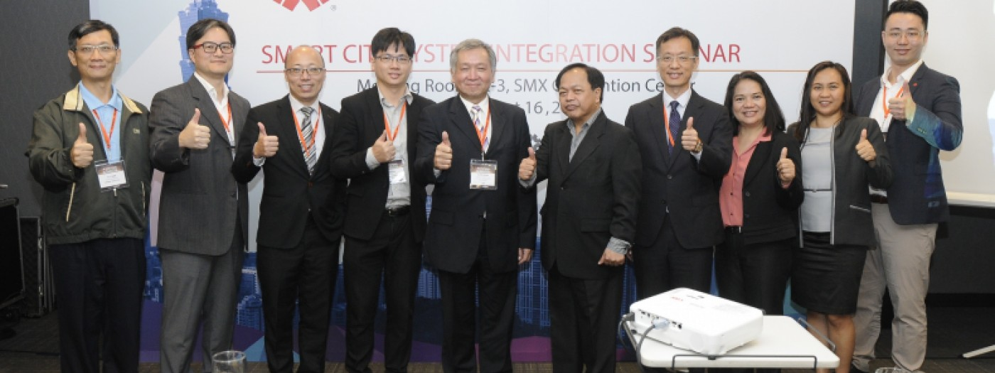 切入菲國智慧城市新未來 台灣精品秀產業創意與實力