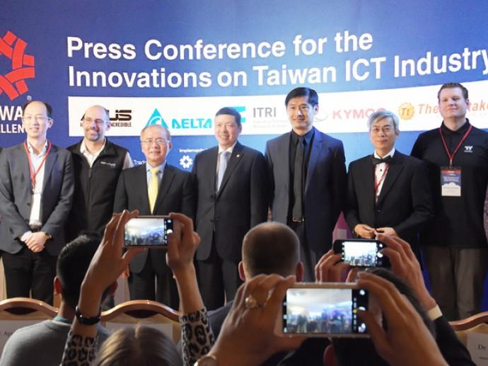 台灣精品在2017 CES 展現臺灣物聯網堅強實力