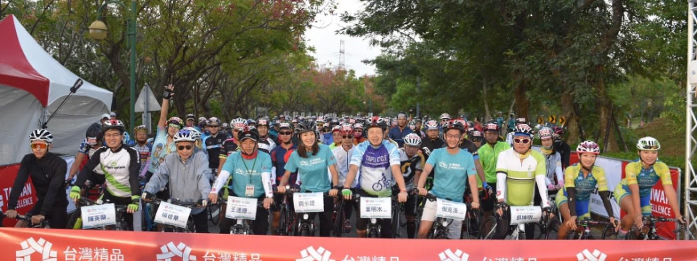 台灣精品與2000位車友「騎」聚台中歡度好個禮BIKE天