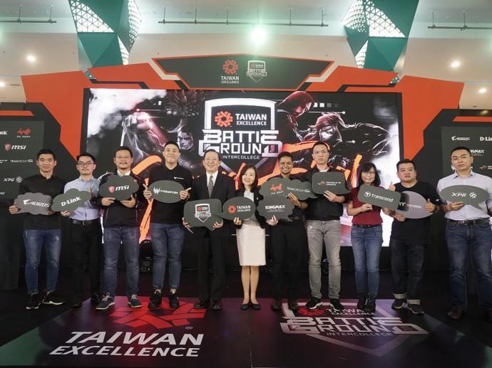 台灣精品舉辦馬來西亞最大校園電競賽 萬名玩家熱烈參與