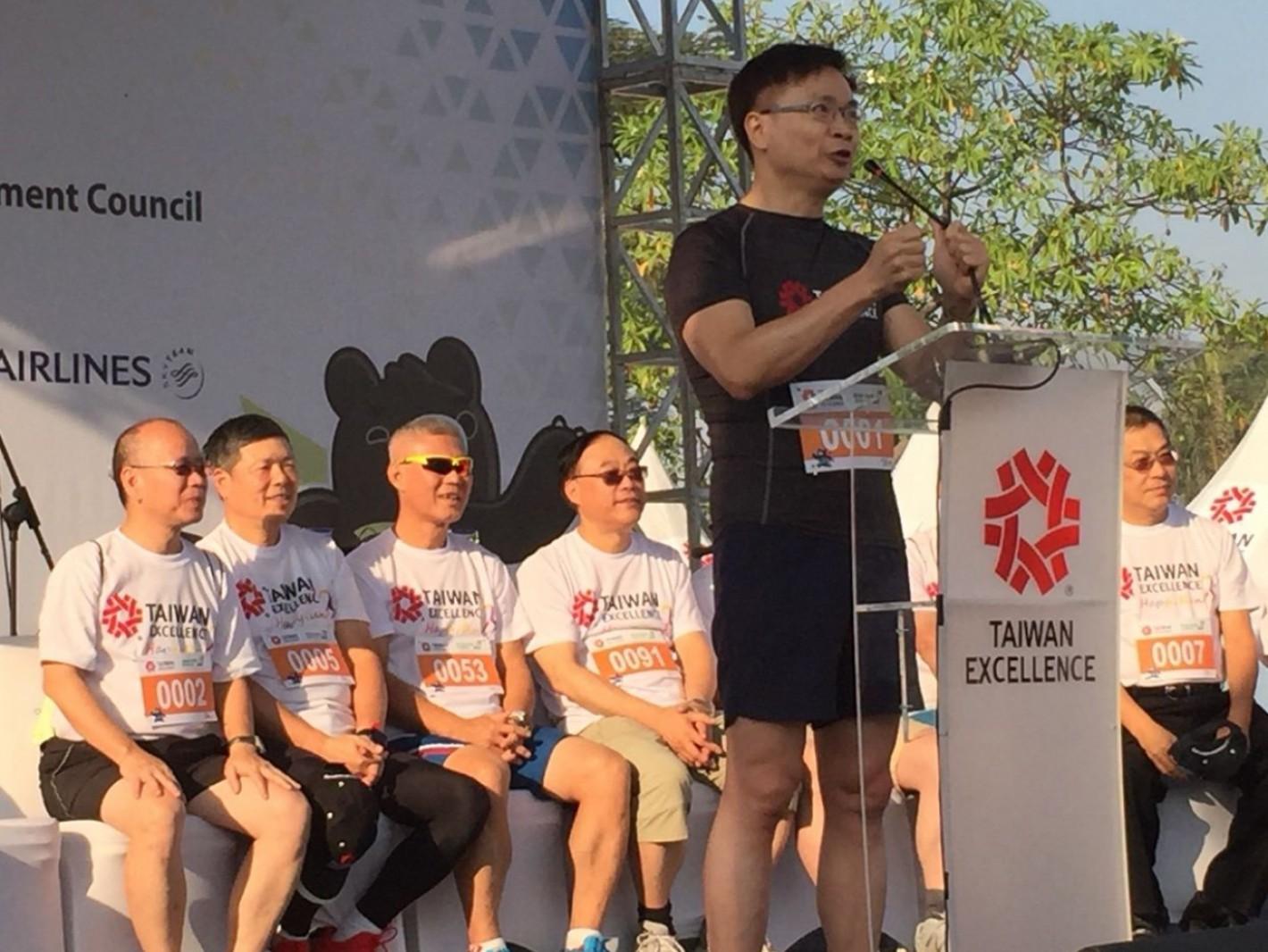 外貿協會董事長黃志芳表示,印尼是「亞洲活力」,而來自台灣的優質產品不僅是台灣精品,也是「亞洲精品」。