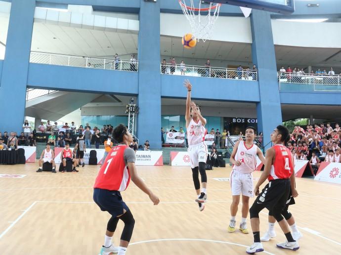 台灣精品首屆籃球賽 「菲」贏不可