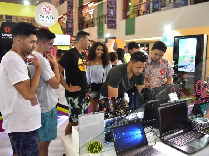 台灣精品搶攻峇里島觀光客群 大秀臺灣產品科技力