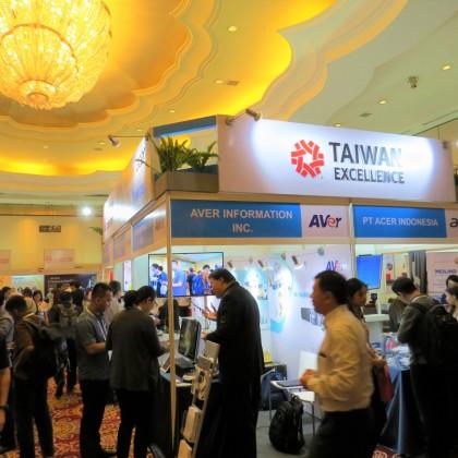 台灣精品專區於印尼物聯網商機論壇吸引眾多相關業者參觀