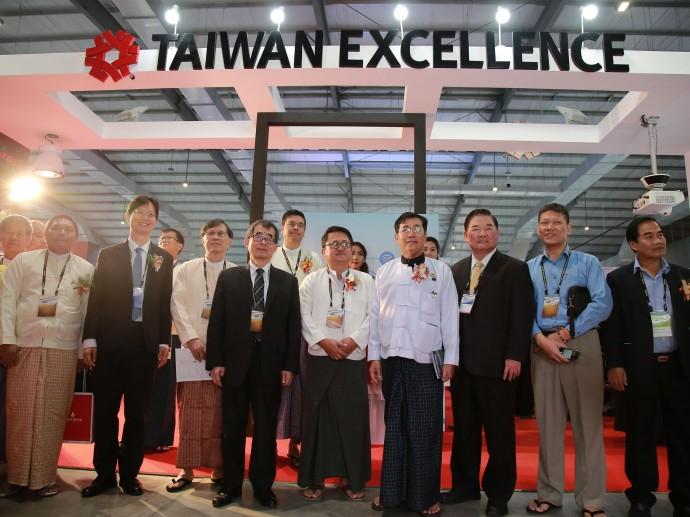 優質創新可信賴 台灣精品再度驚艷緬甸