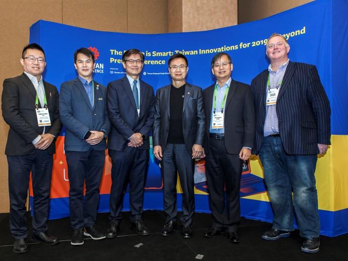 台灣精品於CES 2019展現AIoT研發創新能量