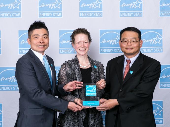 台達連續四年榮獲能源之星年度合作夥伴大獎