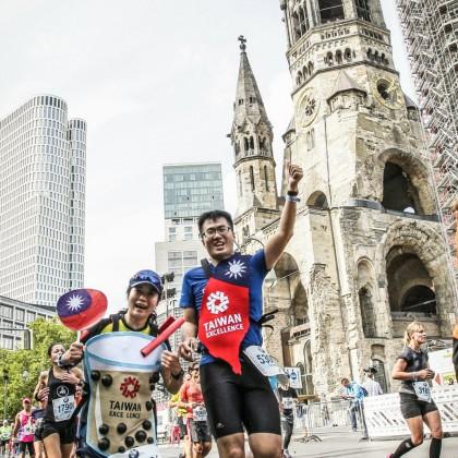 2018台灣精品代表隊跑者以創意珍奶造型參賽超級吸睛