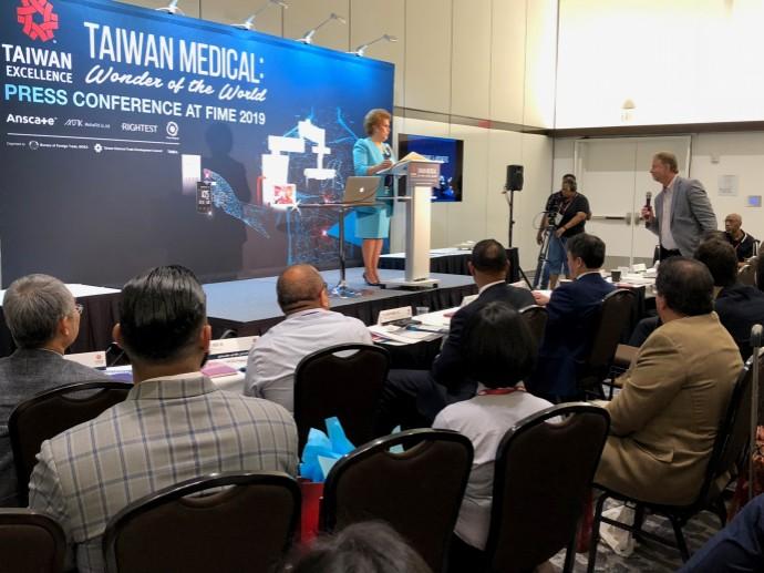 臺灣醫療產業亮眼 美國前衛生署署長再次站臺
