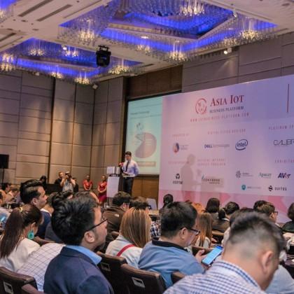 台灣精品品牌代表於物聯網商機論壇主論壇上發表儲存解決方案