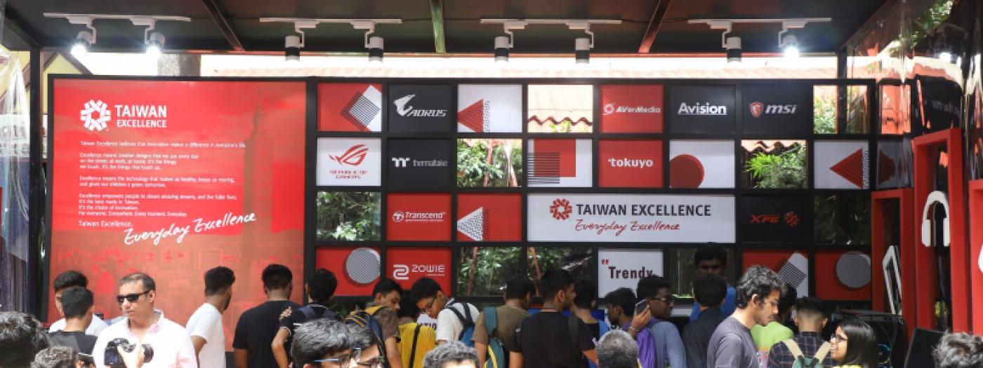 科技夥伴強勢回歸 台灣精品再度襲捲印度百年學院