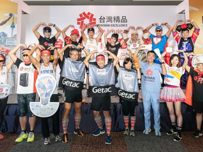 路跑女神雷艾美與台灣精品創意跑隊 分享賽道「嬌」點秘技