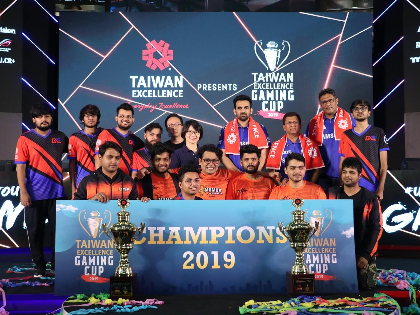 印度台灣精品盃電競賽決賽冠軍隊伍出爐,分別由U Mumba eSports及Global Esports抱回CSGO及DOTA2獎座。