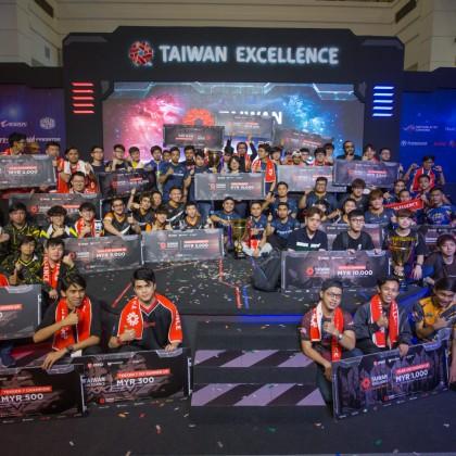 圖一、馬來西亞台灣精品盃電競賽總冠軍於13日晚間出爐