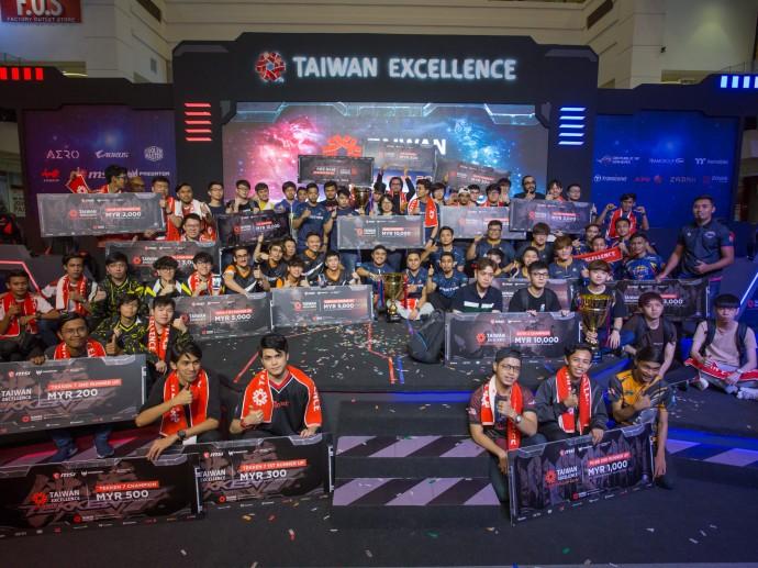 台灣精品亞洲電競爭霸 馬來西亞代表隊出爐!