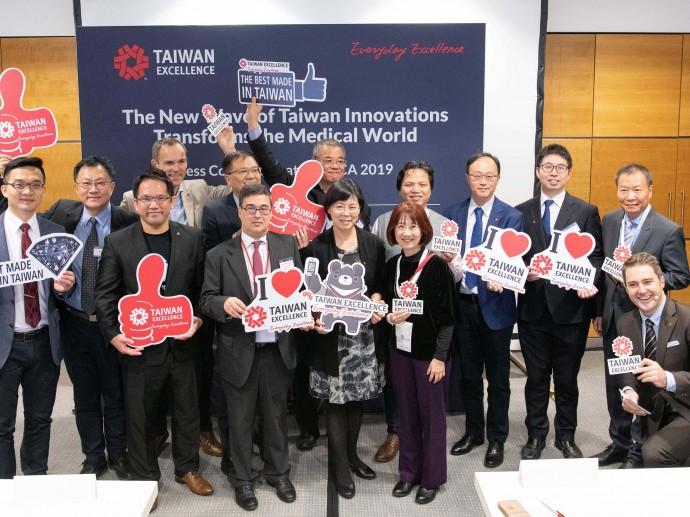 德國杜塞道夫醫療器材展 台灣精品以ROBOT、AI、XR、5G醫療趨勢展現大未來