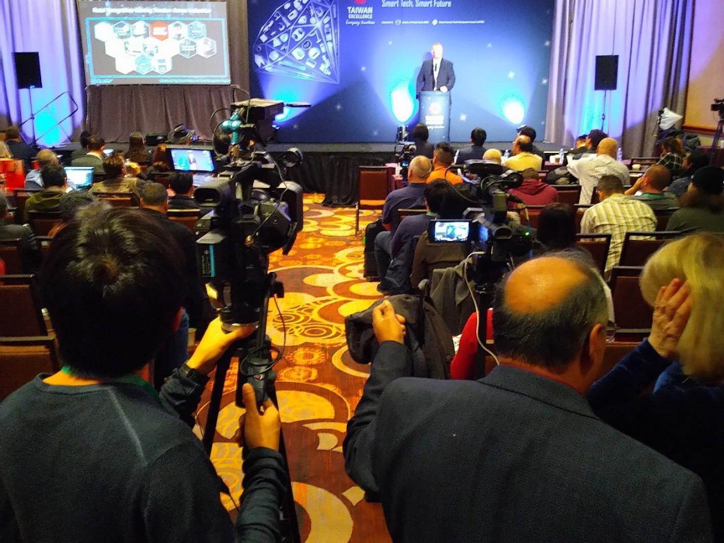 CES 2020 台灣精品展前記者會吸引14國110名媒體及產業代表參加