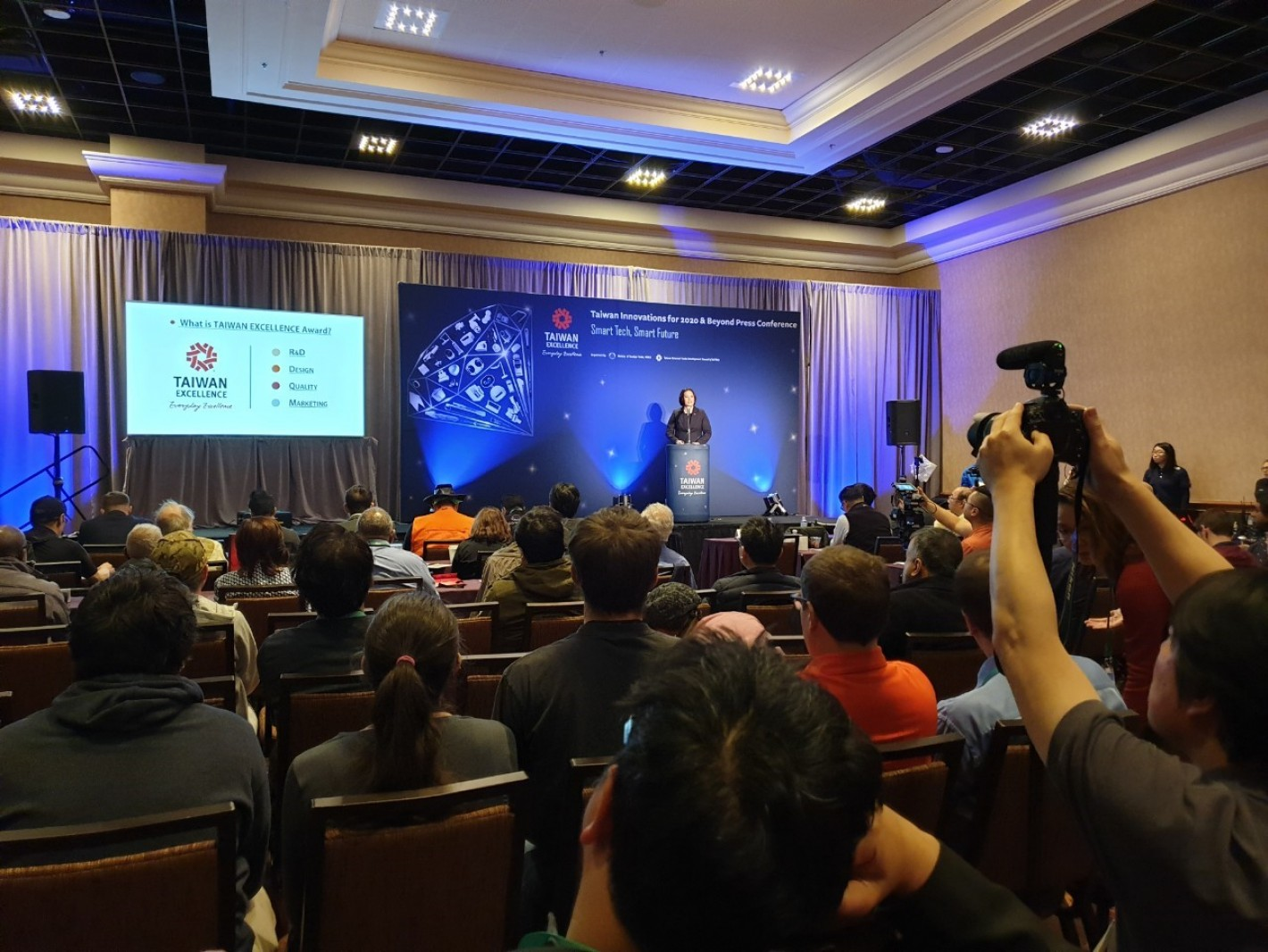 CES 2020 台灣精品展前記者會吸引眾多目光