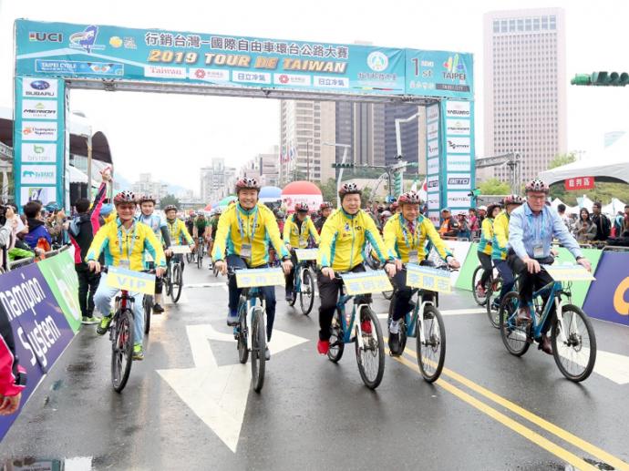台灣精品以行動力挺臺灣自行車產業盛會 2020年國際自由車環台賽如期登場
