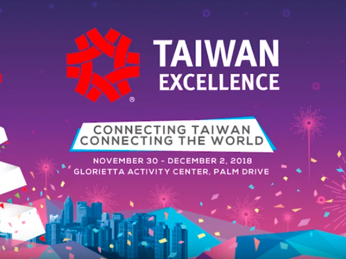 Taiwan Excellence Experiencing Zone is held in Philippines' famous shopping mall, Glorietta 2 on Nov 30th – Dec 2nd, 2018. This one-of-a-kind product exhibit features more than 90 products from 38 Tai