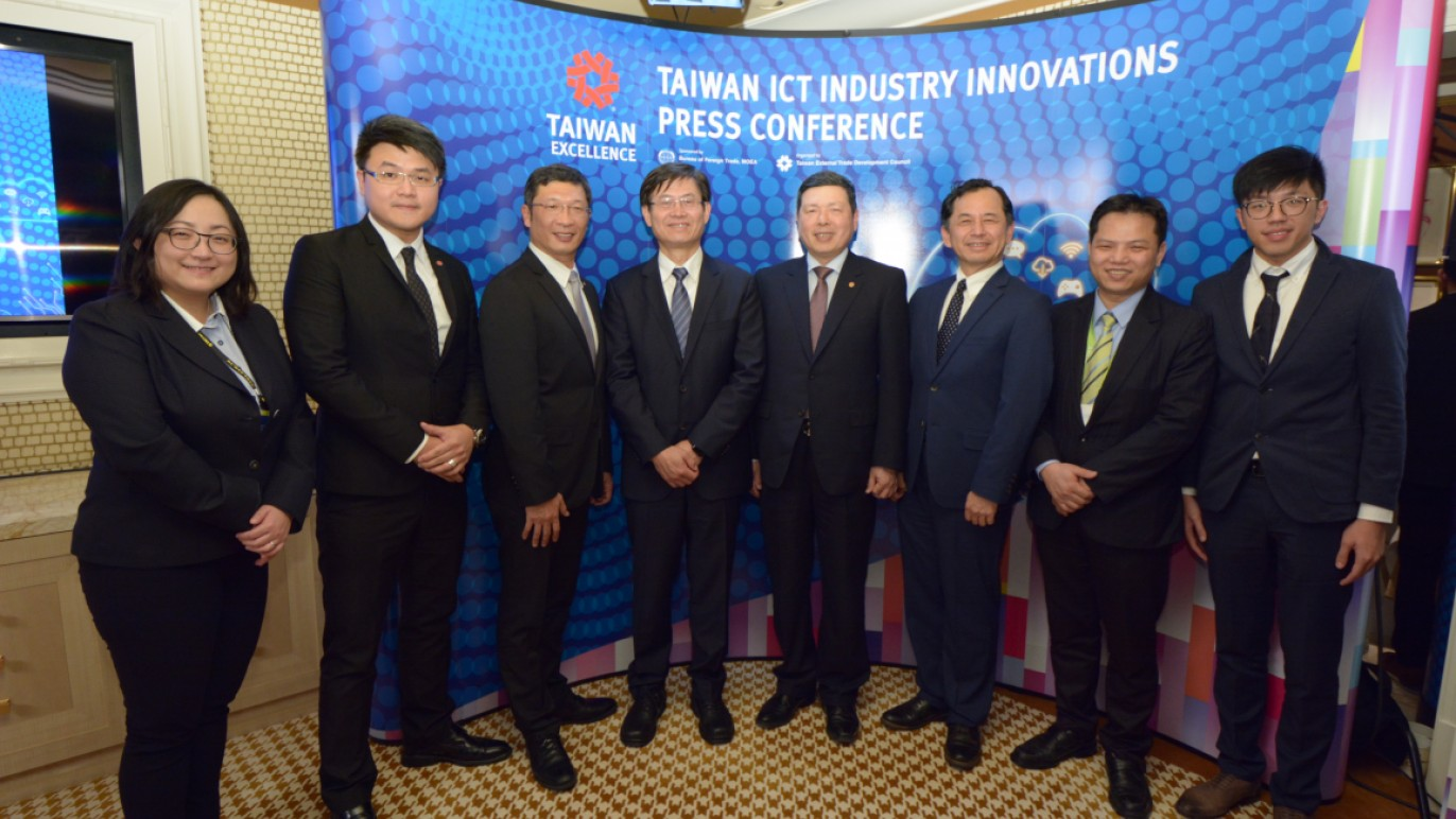 Taiwan ICT Industry Innovations Press Conference-2@CES2018