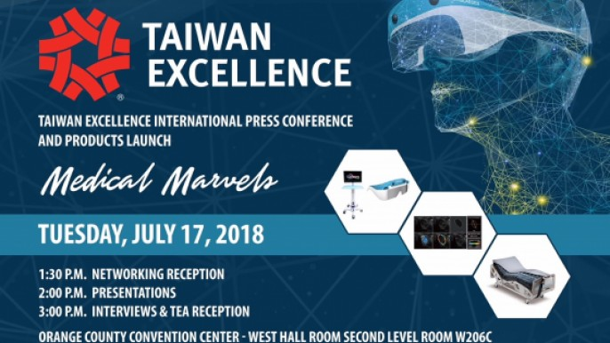 Taiwan New Products Launch@ Florida International Medical Expo (FIME) 2018