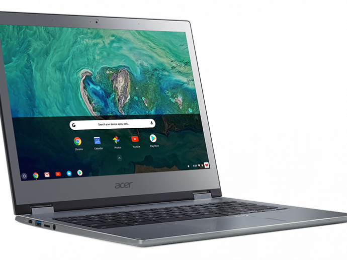Acer Debuts Two Premium 13-Inch Chromebooks Designed for Business Use