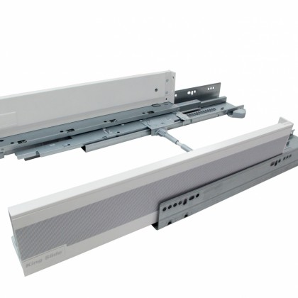 SIMLEAD Safety Drawer System with Push Open, Soft-Closing and VSD from KING SLIDE